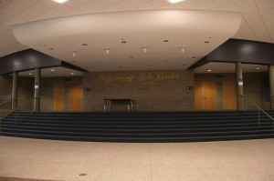 The Performing Arts Center where the Choir Concert took place. Photo by Unknown.