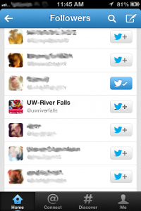University of Wisconsin River Falls Following a Senior Student.