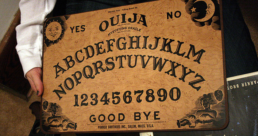 photograph about Ouija Board Printable known as Untold Experiences of the Ouija Board