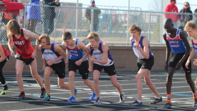 Boys Track Start - April 24th Meet